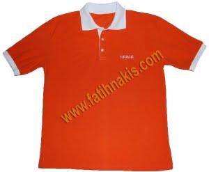 Polo Yaka Tişört Logolu