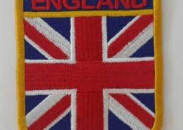 england logo flag patches