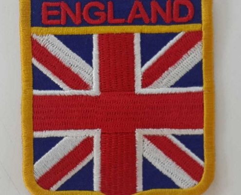 england logo flag patches